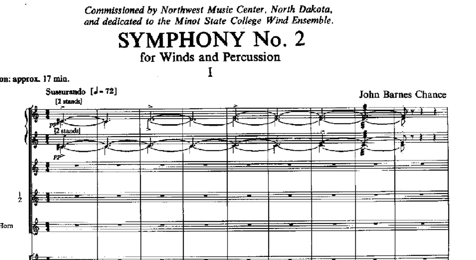 Symphony No. 2: Program Note