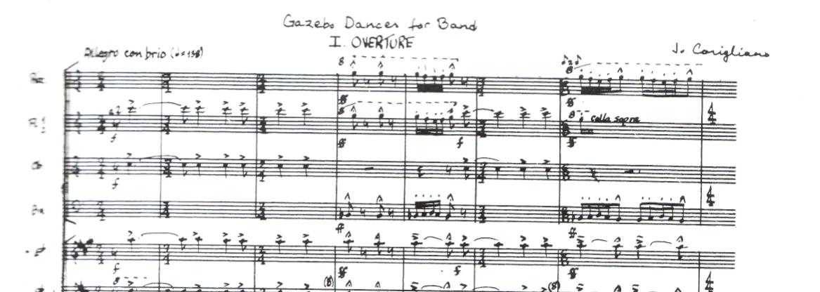 Gazebo Dances: Errata